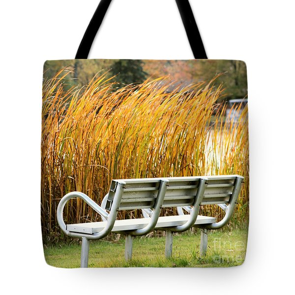 Blocked By The Bush Tote Bag