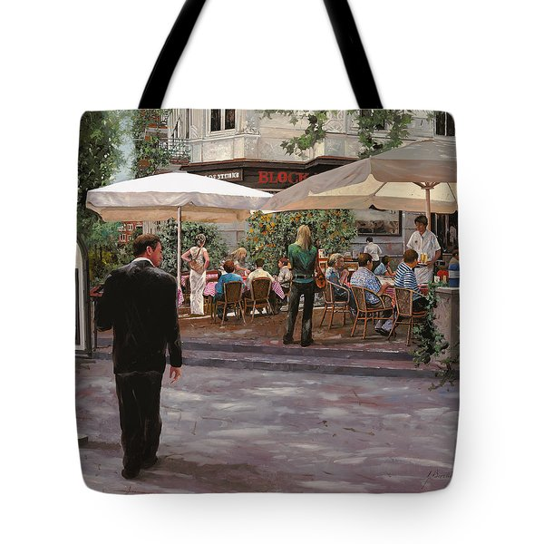Blockhouse Tote Bag by Guido Borelli