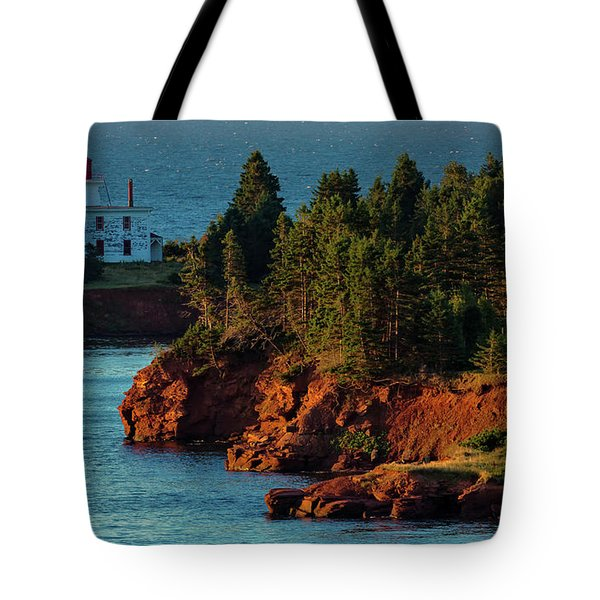Blockhouse Point Lighthouse Tote Bag