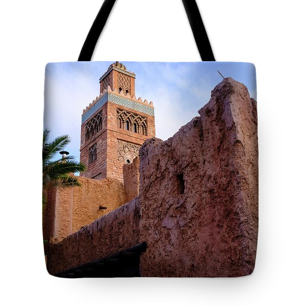 Blocks And High Tower Architecture From Orlando Florida Tote Bag