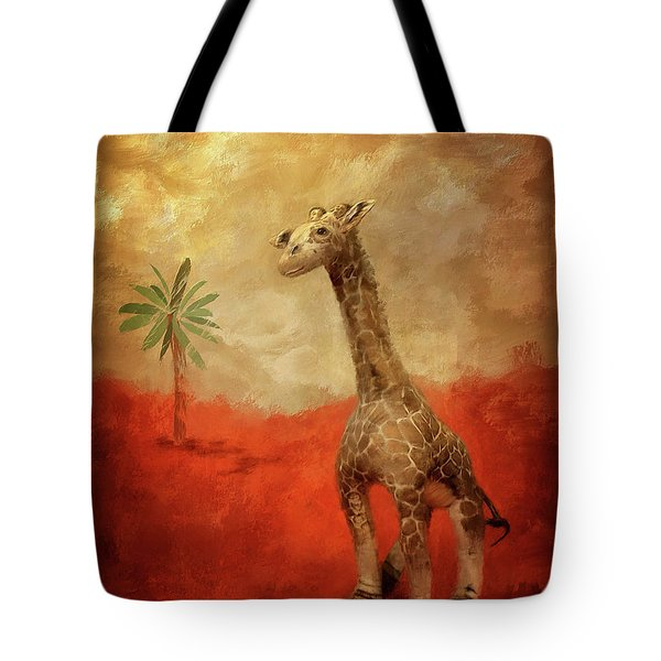 Tote Bag featuring the digital art Block's Great Adventure by Lois Bryan