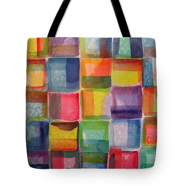 Blocks II Tote Bag
