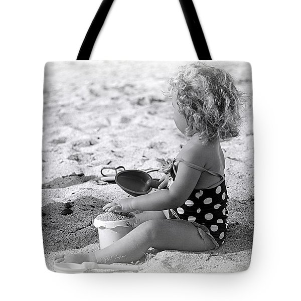 Blond Beach Baby Tote Bag