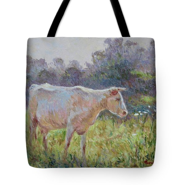 Blonde D'aquitaine Tote Bag