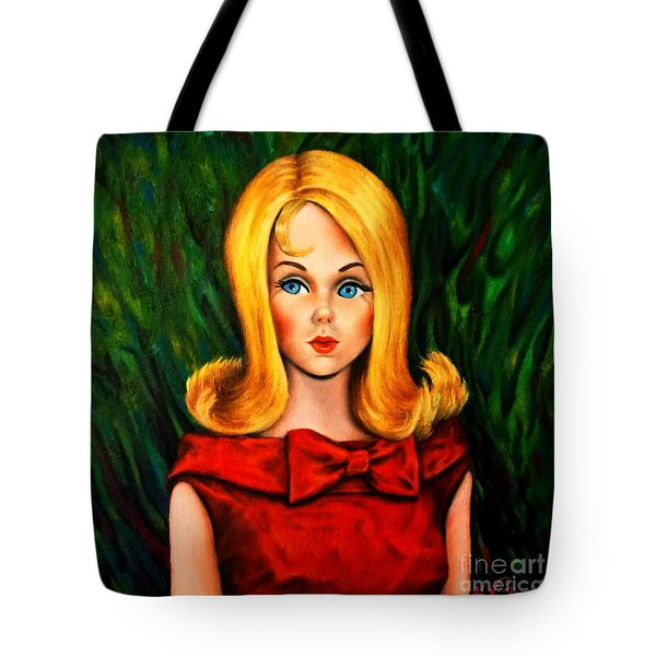 Blonde Marlo Flip Tnt Barbie Tote Bag