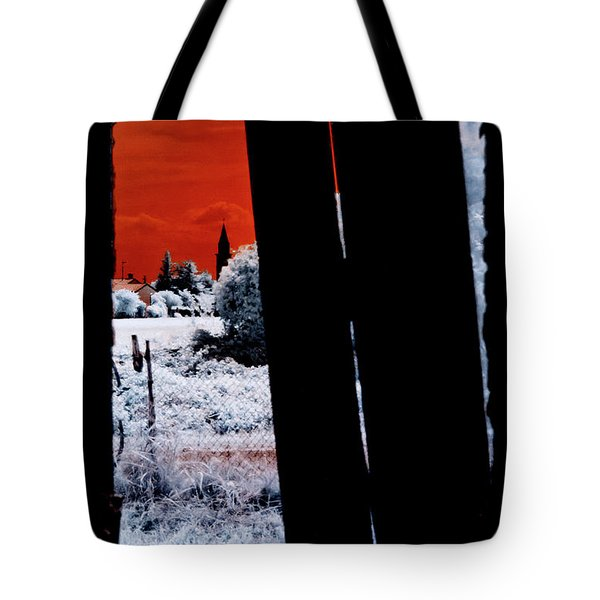 Tote Bag featuring the photograph Blood And Moon by Helga Novelli