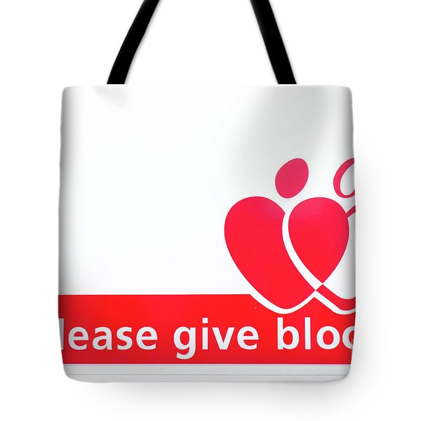 Blood Donor Appeal Tote Bag