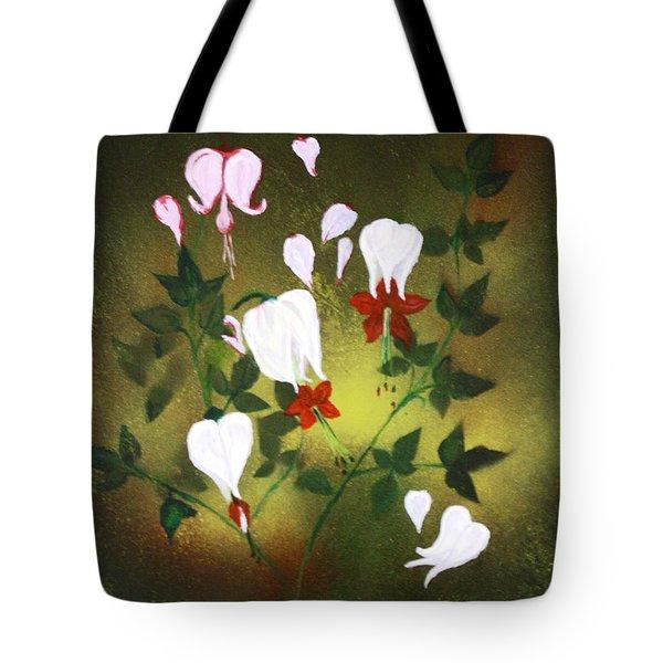 Blood Flower Tote Bag by Tbone Oliver