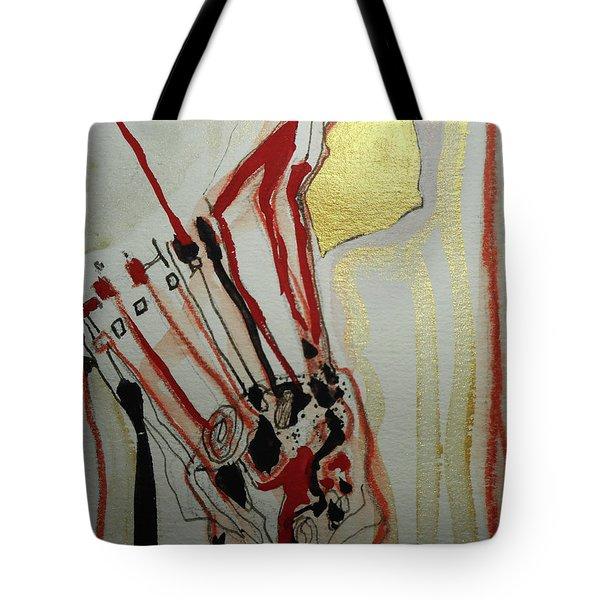 Blood Flowers Tote Bag