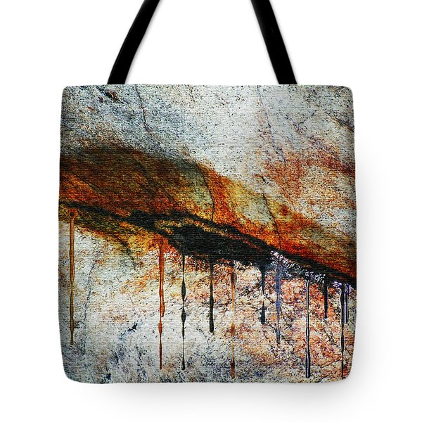 Blood From A Stone Tote Bag by RC deWinter