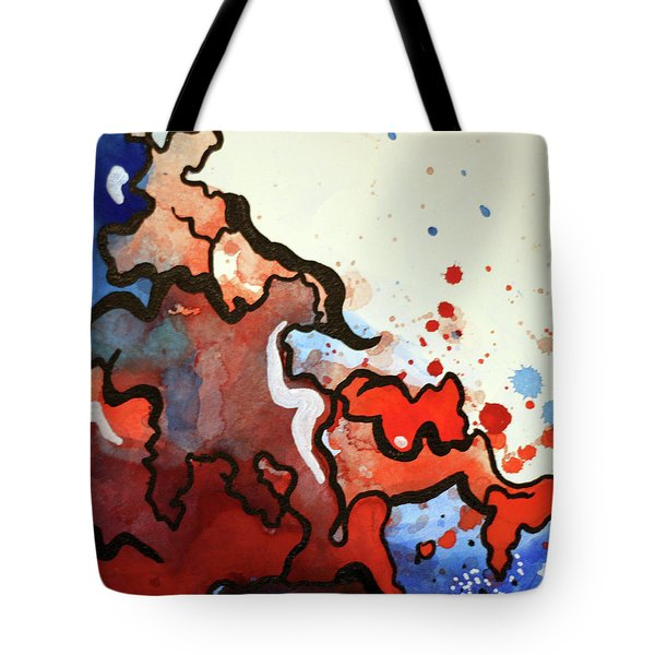 Blood In The Water 2 Of 4 Tote Bag