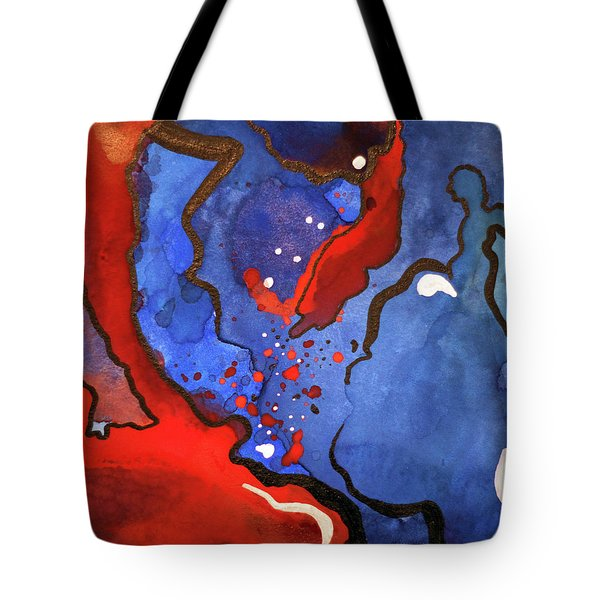 Blood In The Water 4 Of 4 Tote Bag