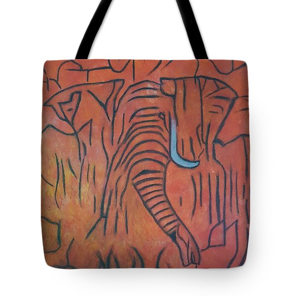 Blood Ivory Tote Bag