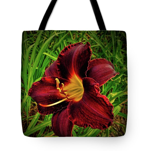 Blood Lily  Tote Bag