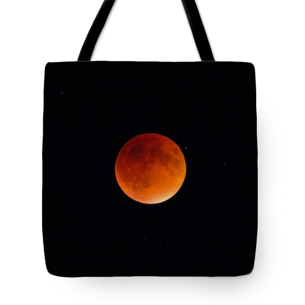 Blood Moon 2 Tote Bag by Cathie Douglas