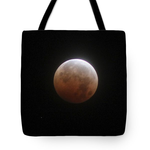 Blood Moon Tote Bag by Cathie Douglas