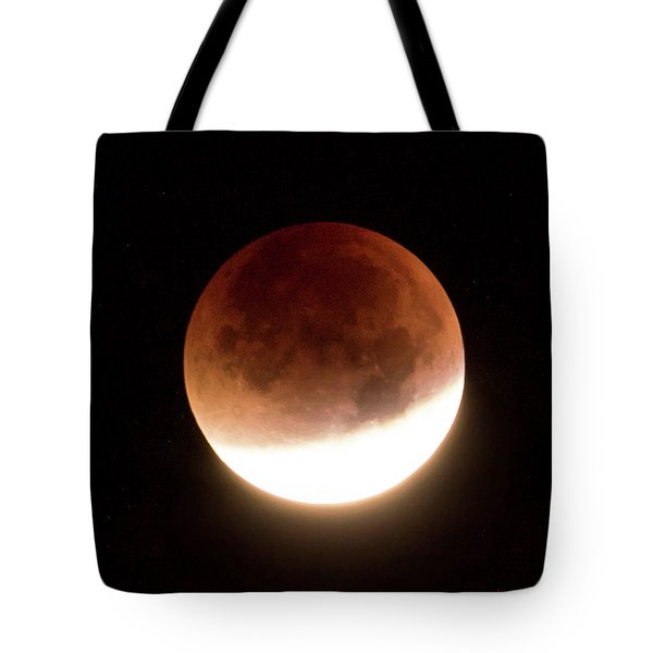 Blood Moon Eclipse Tote Bag