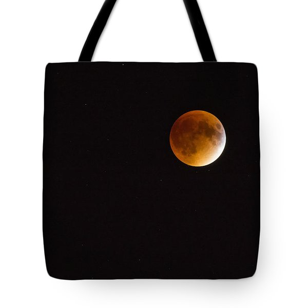 Blood Moon Luna Eclipse Tote Bag