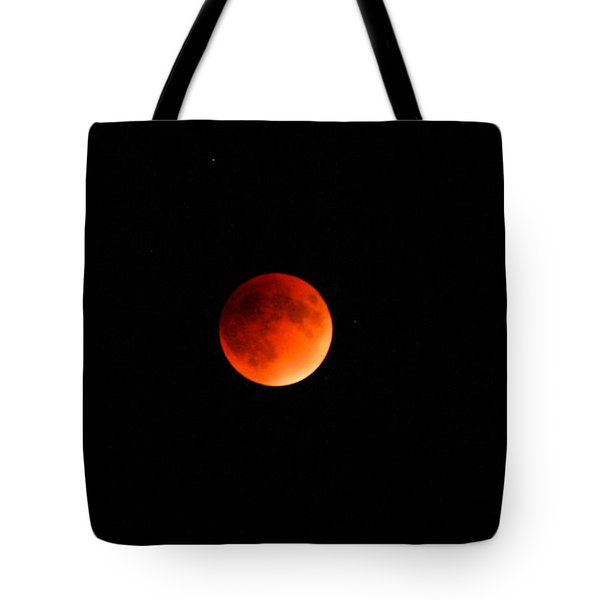 Tote Bag featuring the photograph Blood Moon by Robyn Stacey
