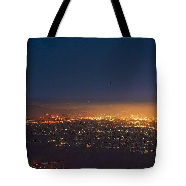 Blood Moon San Diego Tote Bag