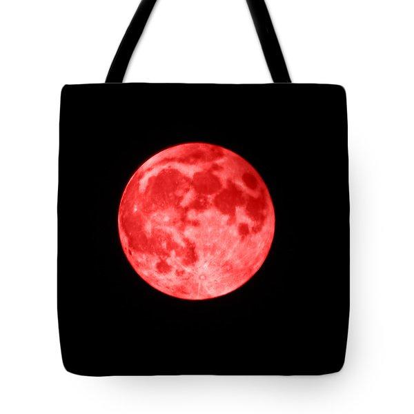 Blood Moon Tote Bag