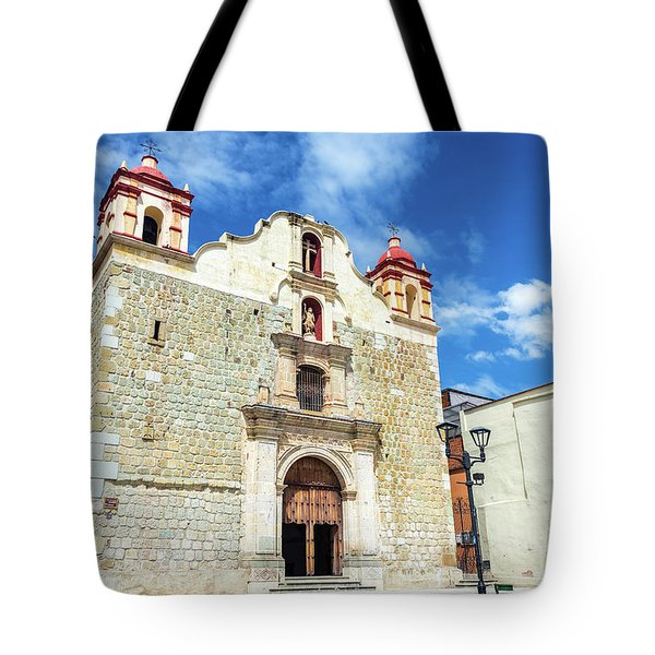 Blood Of Christ Church Tote Bag