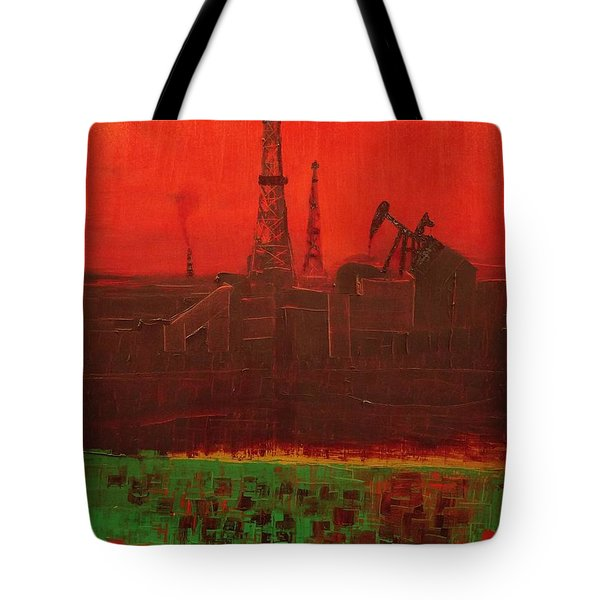 Blood Of Mother Earth Tote Bag