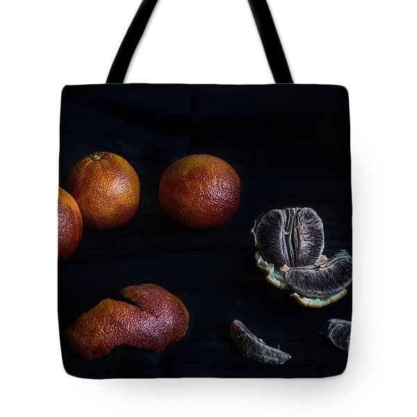 Blood Orange Symphony Tote Bag