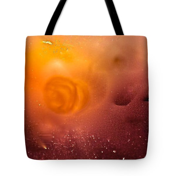 Blood Sun Tote Bag