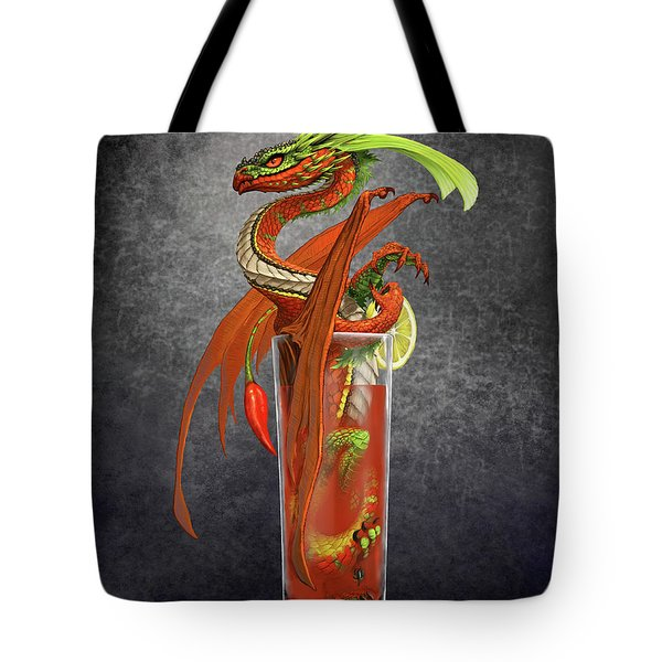 Bloody Mary Dragon Tote Bag