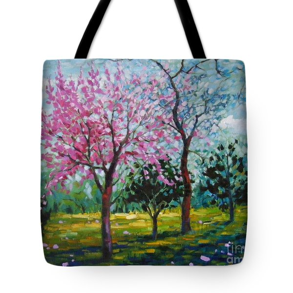 Bloom In Pink Tote Bag