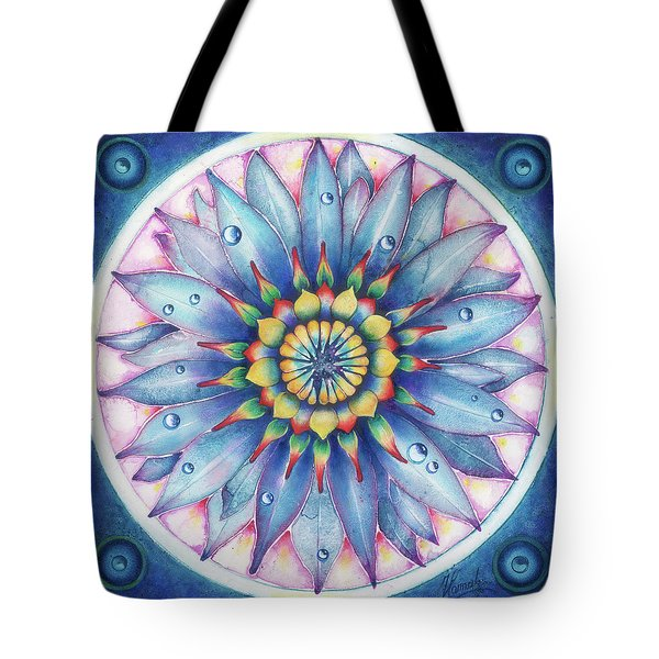 Bloom Of Counsciousness Tote Bag