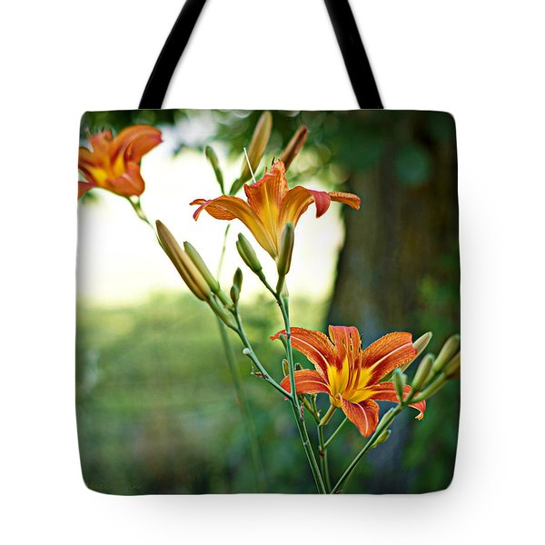 Bloom Where You're Planted Tote Bag by Cricket Hackmann