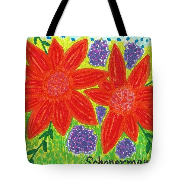 Bloomin' Blossoms Tote Bag