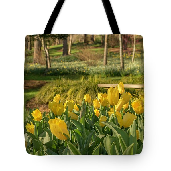 Tote Bag featuring the photograph Bloomin Tulips by Keith Smith