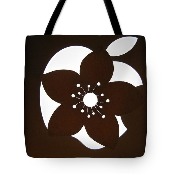 Blooming Apple Mac Tote Bag