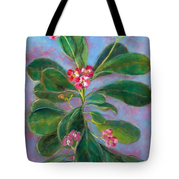 Blooming Crown Tote Bag by Julie Maas