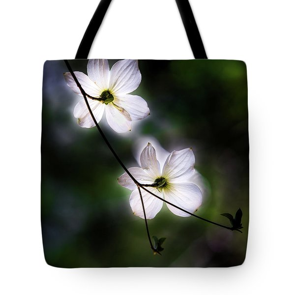 Blooming Dogwoods In Yosemite 2 Tote Bag