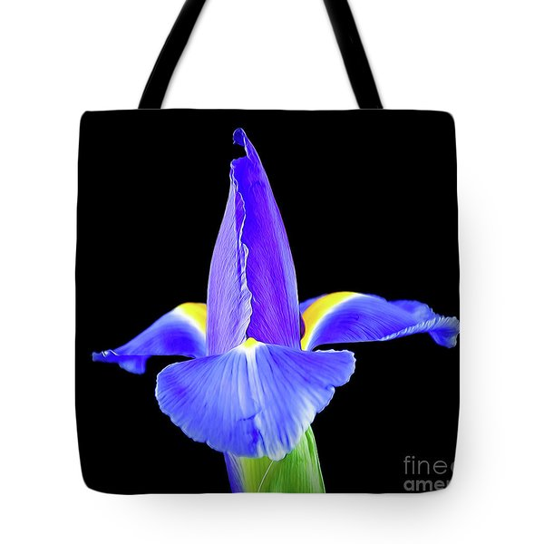 Blooming Iris 1318-1 Tote Bag