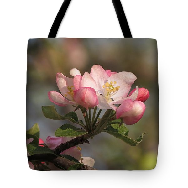 Tote Bag featuring the photograph Blooming by Kimberly Mackowski