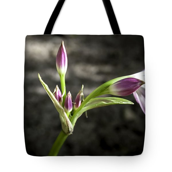 Blooming Lily Tote Bag