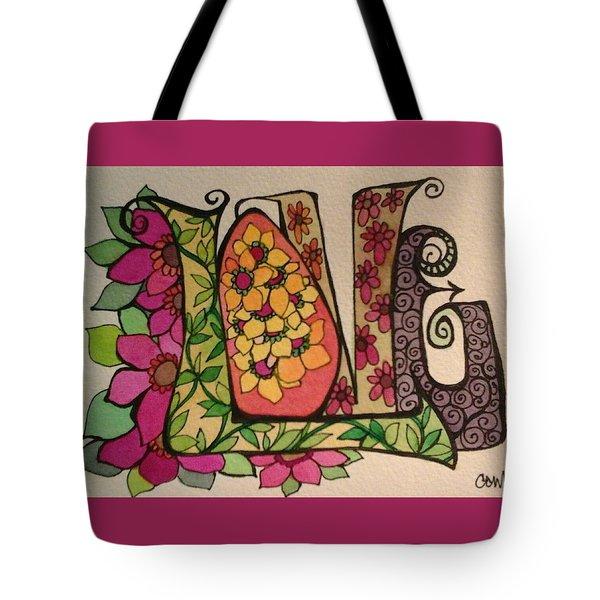 Blooming Love Tote Bag