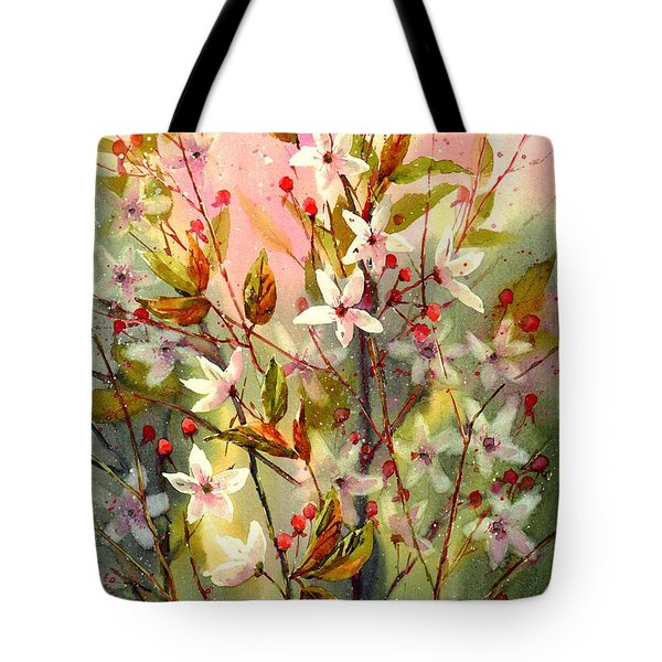 Blooming Magical Gardens I Tote Bag