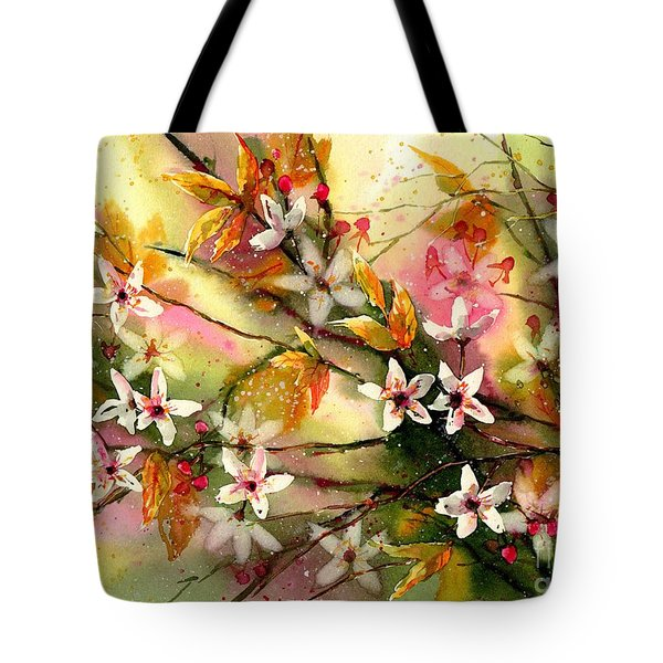 Blooming Magical Gardens II Tote Bag