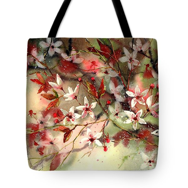 Blooming Magical Gardens IIi Tote Bag