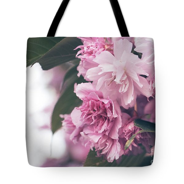 Blooming Pink Tote Bag by Rebecca Davis