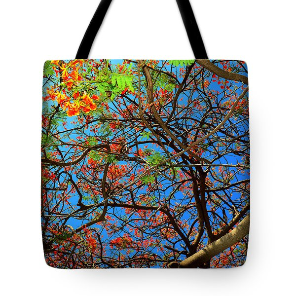 Blooming Tree Tote Bag