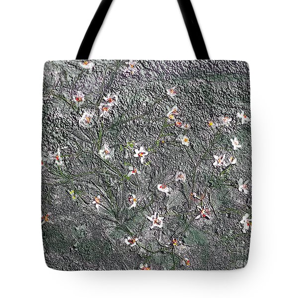 Blooms In Stone Tote Bag