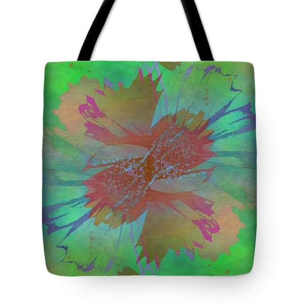 Blooms In The Mist Tote Bag by Tim Allen