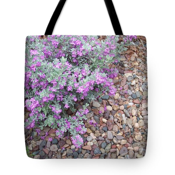 Tote Bag featuring the painting Blooms by Mordecai Colodner